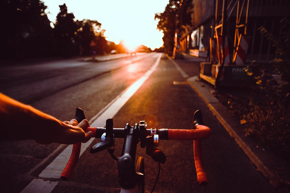 Riding bicycle is fun; you get to enjoy being a kid again while getting into shape.